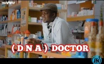 COMEDY VIDEO: Thecute Abiola - DNA DOCTOR
